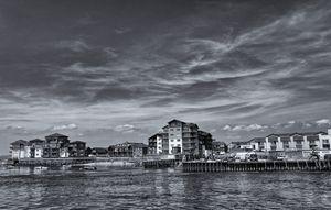Exmouth Marina Monochrome