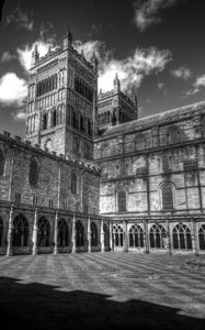 Durham Cathedral Black and White