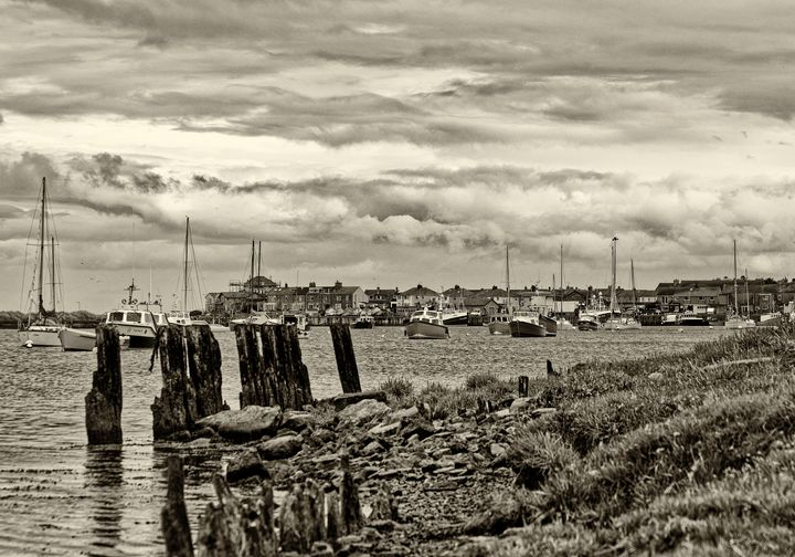 Boats On the River Coquet - JT54Photography