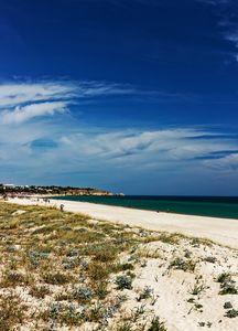 The Beach At Alvor