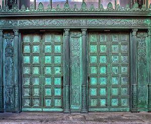 Old Bank Doors