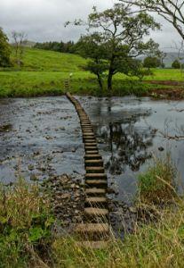 Stepping Stones Across The Hodder