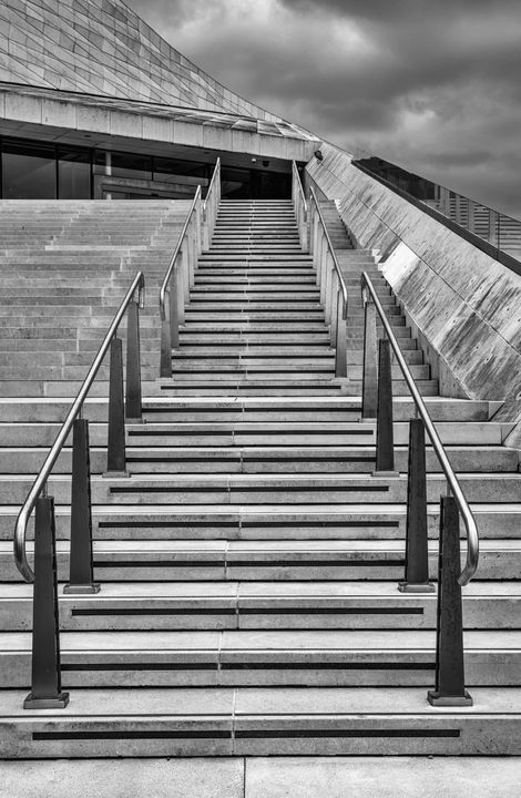 Stairs Monochrome - JT54Photography