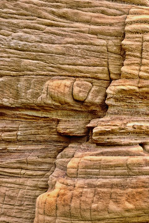 Abstract Rock Face - JT54Photography