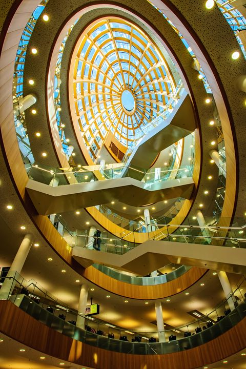 Liverpool Central Library Staircase - JT54Photography