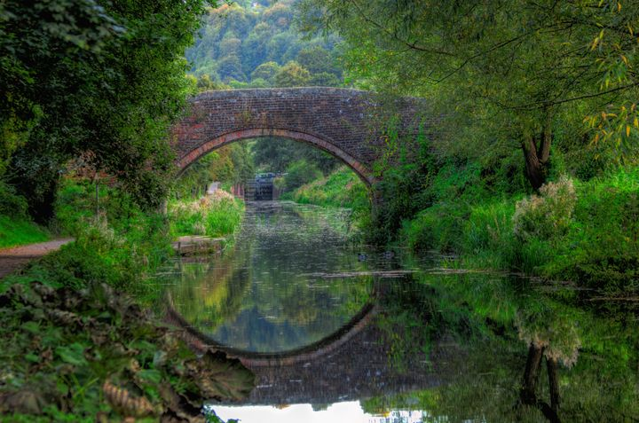 View Through The Bridge - JT54Photography