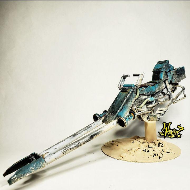 1/12 Jakku Inspired Battle Speeder - Astral Voyage
