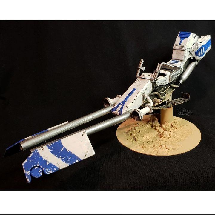 1/12 501st Legion Battle Speeder Bik - Astral Voyage