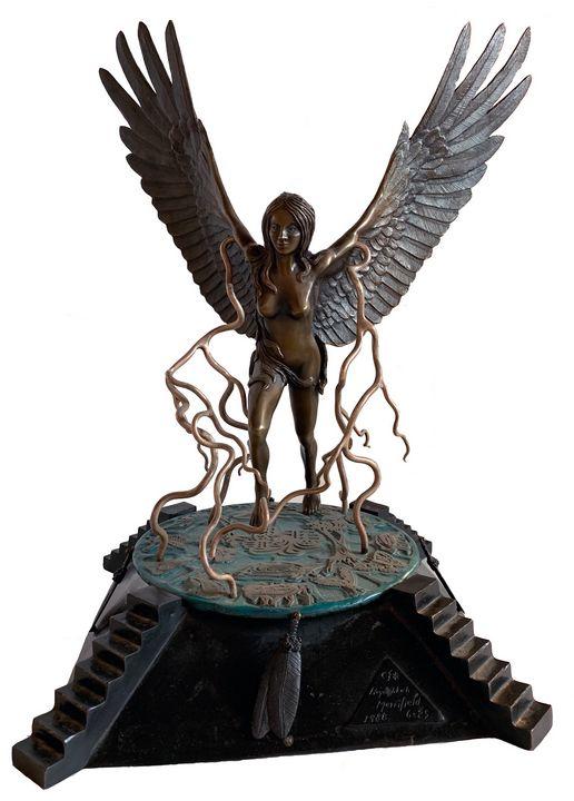 Bronze Angel - Heyoka Merrifield