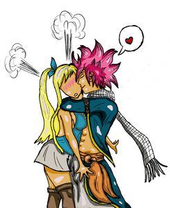 A Moment with Natsu and Lucy