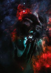 """""""Princess Cosmos"""" Wall Art"""