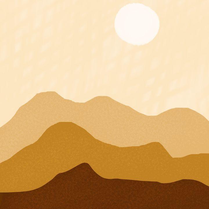 Sunny Desert - Wil Wolf