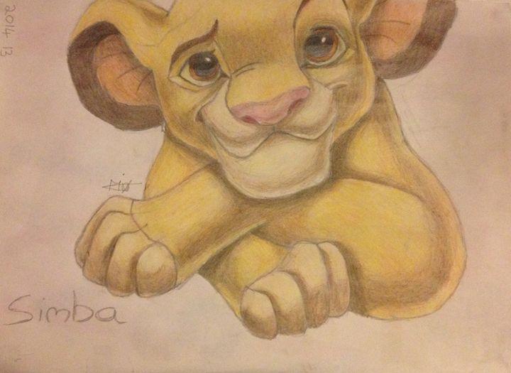 Simba the lion - Maria Bramo