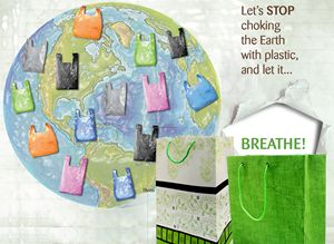 Use Paper Bags and Save Mother Earth