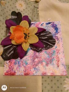 Flower painting - Aunt-kks art