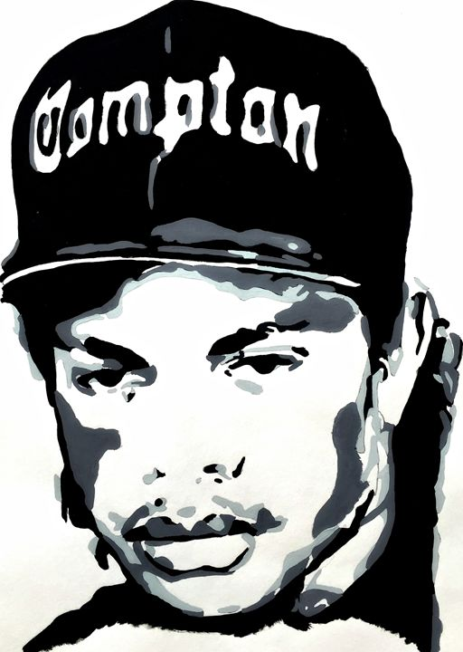 Eazy-E - Capturing Life: Art by Kanika Wharton