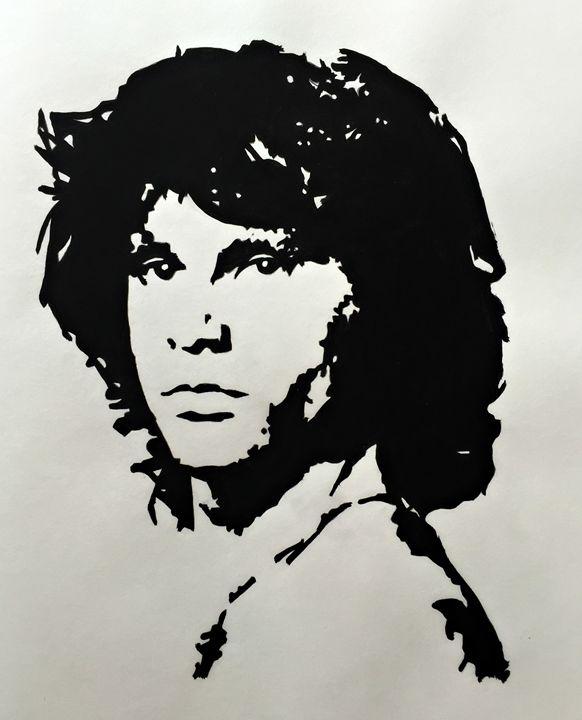 Jim Morrison - Capturing Life: Art by Kanika Wharton