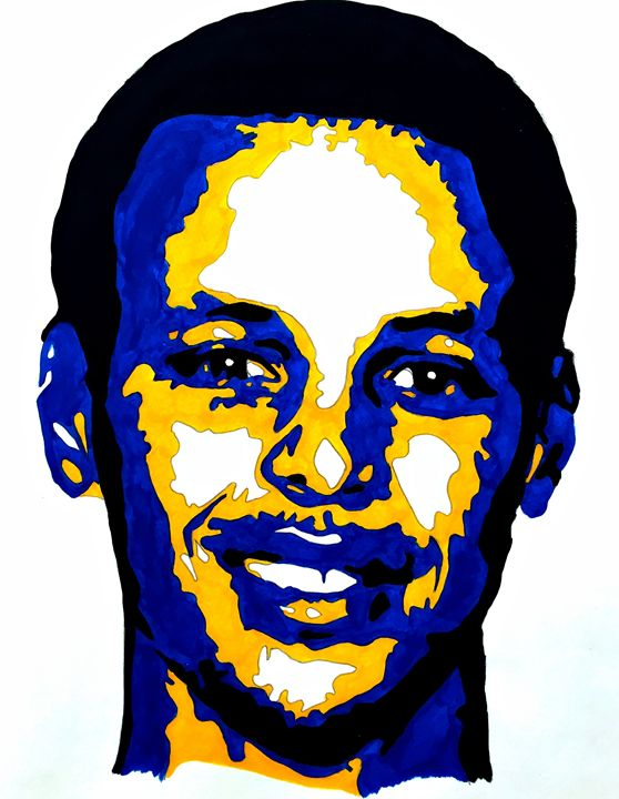 Stephen Curry - Capturing Life: Art by Kanika Wharton