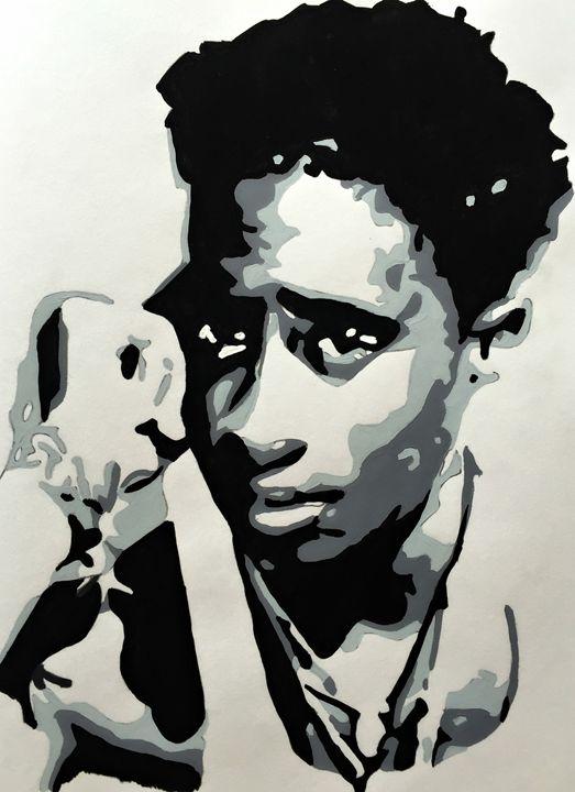 Young Pac' - Capturing Life: Art by Kanika Wharton