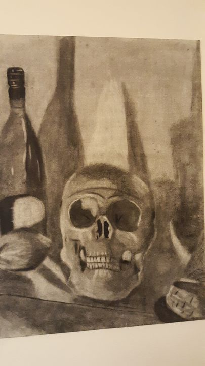 Skull Still-life - Art by Cheyenne
