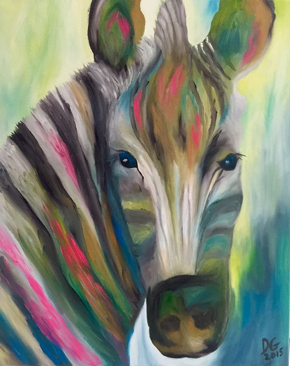 Abstract Zebra - Dianne Canan Designs