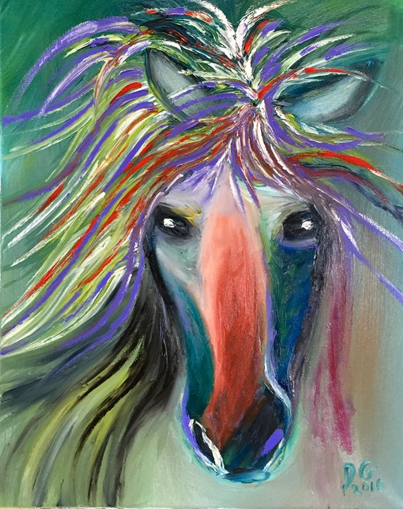 Crazy Horse - Dianne Gallagher Designs