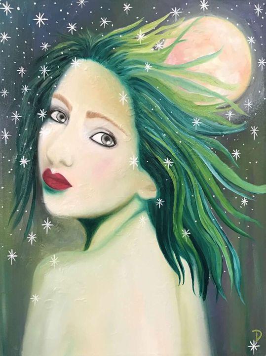 Goddess Of The Hunt - Dianne Gallagher Designs
