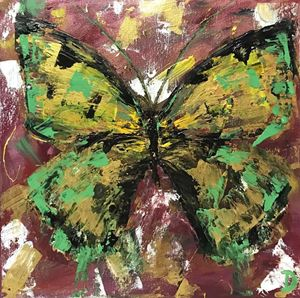 Abstract Butterfly 2