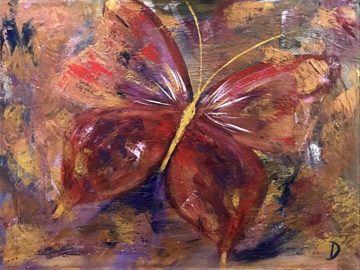 Abstract Butterfly 1 - Dianne Gallagher Designs