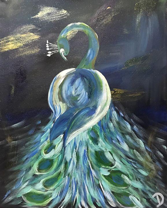 Peacock - Dianne Canan Designs