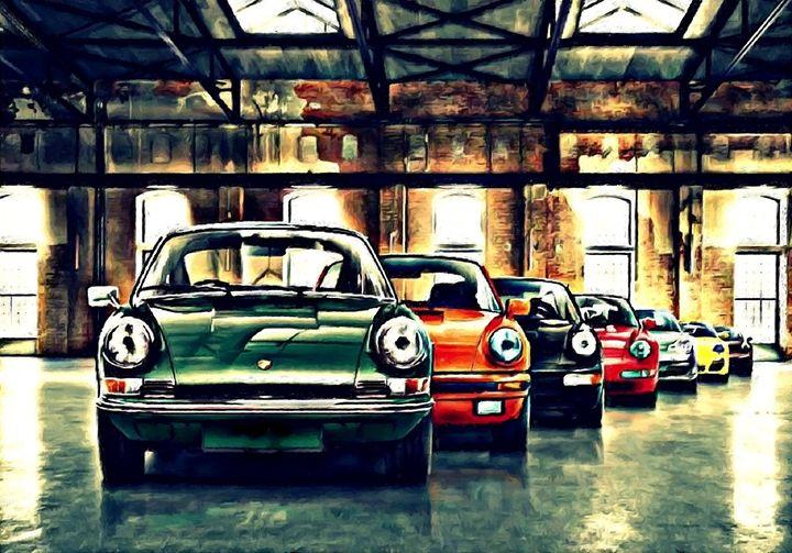 Porsche 911 - Beetle-Ink