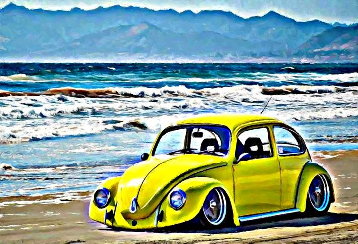 Yellow sand - Beetle-Ink