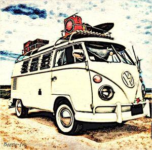 Sandy Beach - Beetle-Ink