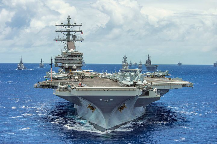 USS Ronald Reagan Carrier - One Man's Junk