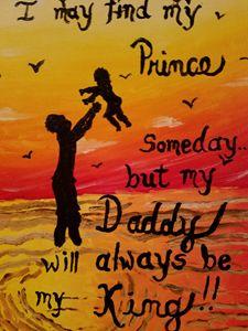 Always, Dad - Robyn's Abstract Originals