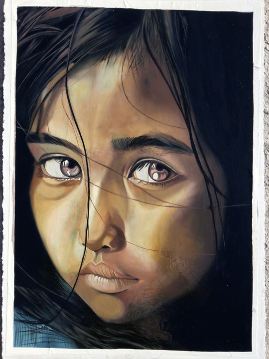 SAD GIRL - Vimdeanna Art