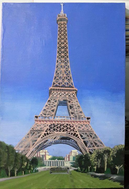 EIFFEL TOWER - Vimdeanna Art