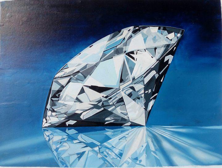 Diamond in the Dark - Vimdeanna Art