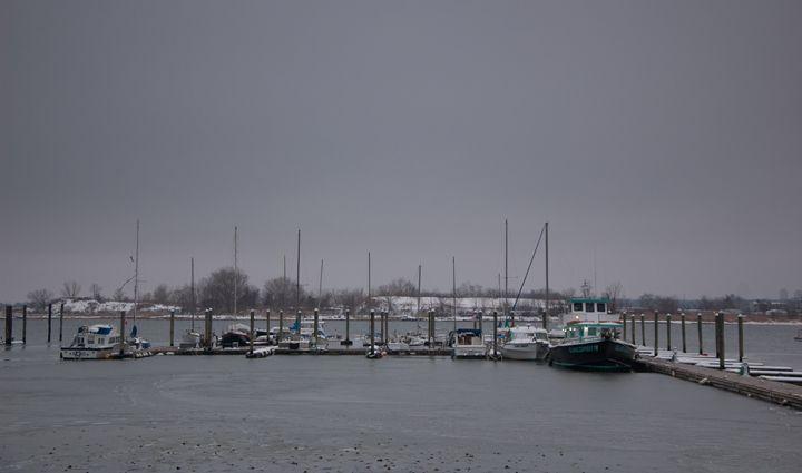 A Cloudy Dock - SAJ Enterprise
