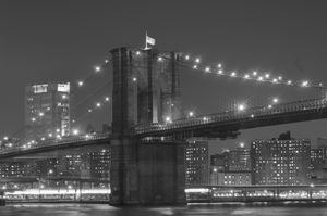 Iconic Brooklyn Bridge