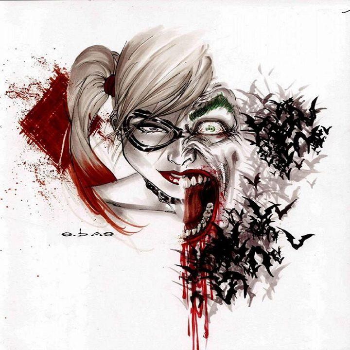 joker and harley quinn - Jokers Dark knight