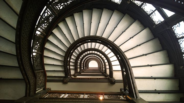 The Rookery Light Court Staircase - Kelly Hazel