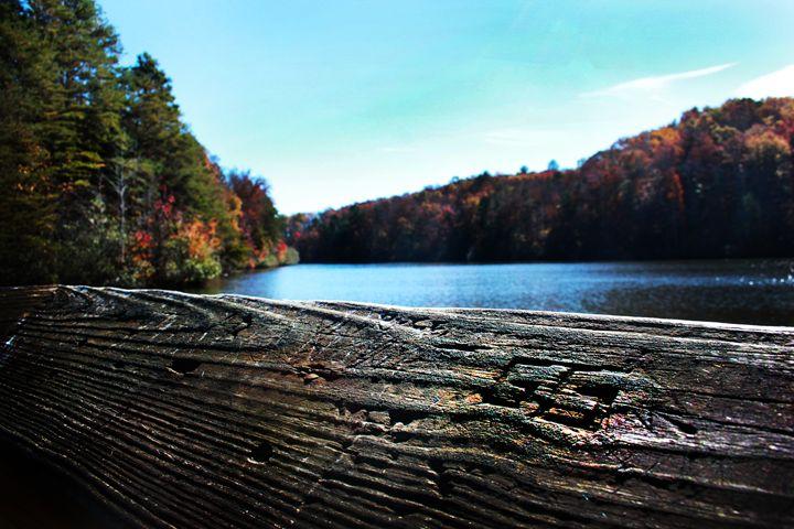 Autumn Lake and Dock - Kelly Hazel