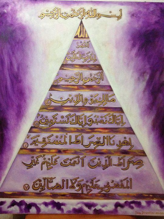 AL-Fatihah Quran - INA Galerie