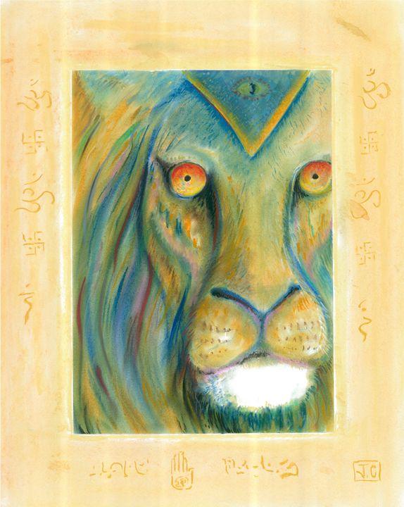 Soul Lion - Jim's Art Spot