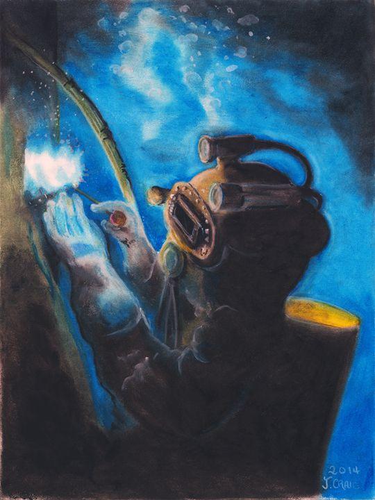 Deep Sea Welder - Jim's Art Spot