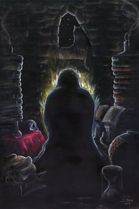 The Alchemist - Jim's Art Spot