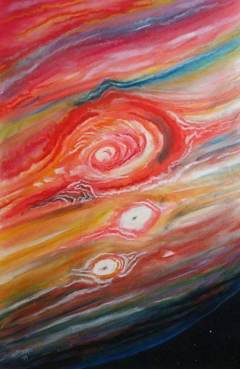 Eye of Jupiter - Jim's Art Spot