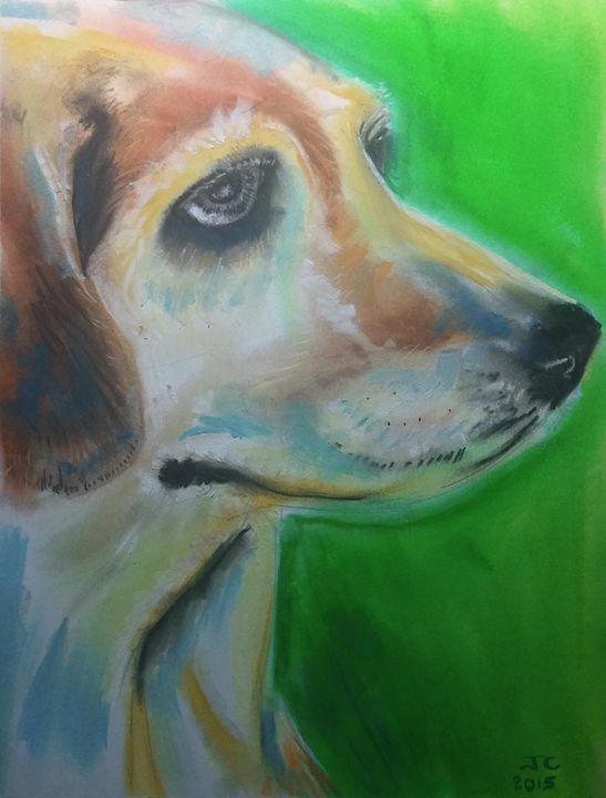 Experient Beagle - Jim's Art Spot