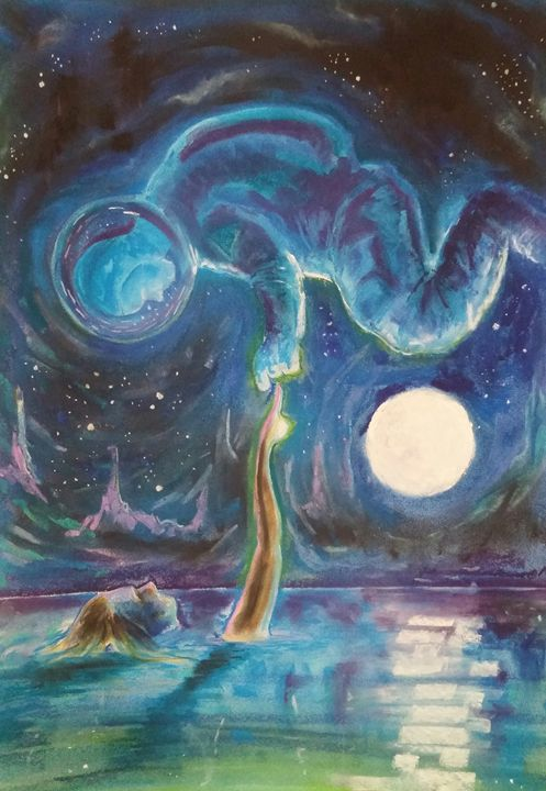 Dreams of Space - Jim's Art Spot